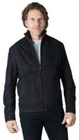 Remy Men's Denim Zip Front Jacket Shadow/Coal