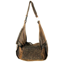 Kippy's Pyramid Metal Mini Hobo