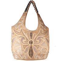 Kippy's Sol Beach Tote w/ Spiked Lily Overlay