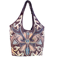 Kippy's Sol Beach Tote w/ Crystal Lily Overlay