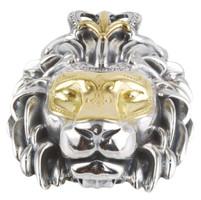 Konstantino Sterling Silver & 18k Gold Lion Pendant