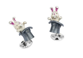 Deakin & Francis Rabbit in a Hat Cufflinks