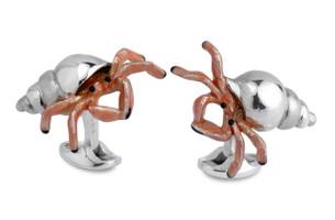 Deakin & Francis Hermit Crab Cufflinks