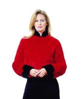 Paula Lishman Hand Knit Beaver Jockey Jacket