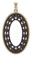 Armenta Open Oval Roped Crivelli Enhancer