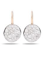 Pomellato Sabbia White Diamond Earrings