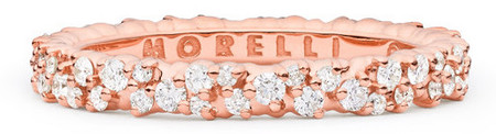 Paul Morelli Confetti Extra Small Pink Gold Ring