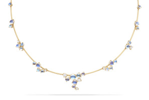 Paul Morelli Single Unity Gold Bubble Wire Necklace