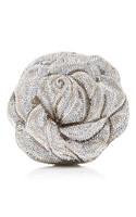 Judith Leiber Couture Sterling Rose Handbag