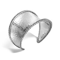 John Hardy Classic Chain Hammered Silver Cuff