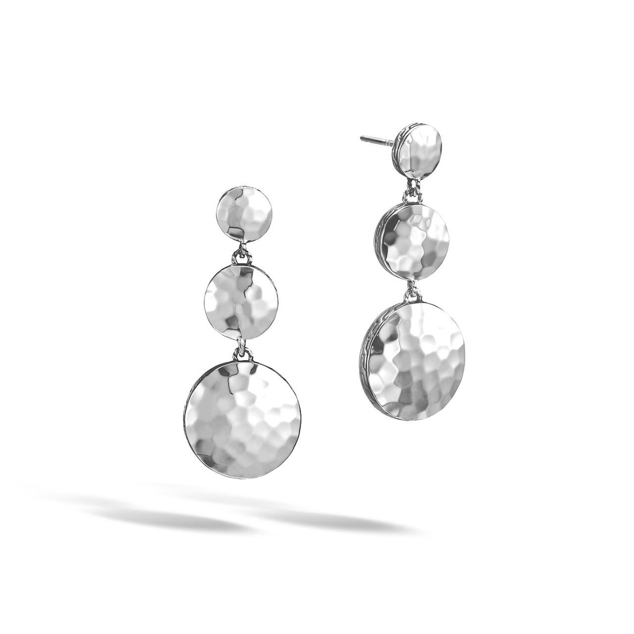 2d760aca5 John Hardy Dot Silver Triple Drop Earrings. Price: $395.00. Image 1
