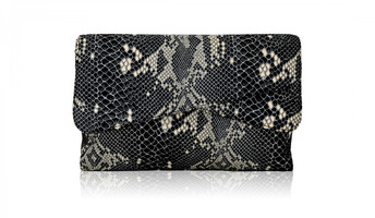 Inge Christopher Prizzi Dual Compartment Clutch