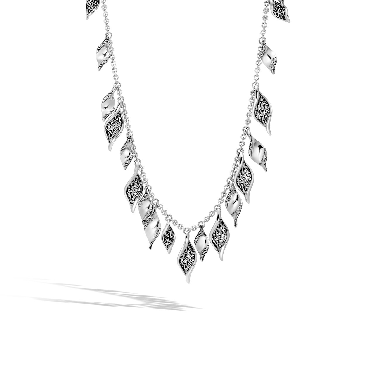 69c641b660813 John Hardy Classic Chain Wave Silver Necklace