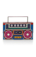 Judith Leiber Couture Brooklyn Mookie Boom Box Clutch Bag