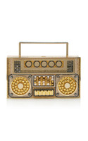 Judith Leiber Couture Love Daddy Boom Box Clutch Bag