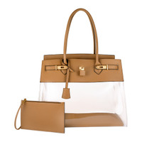 Augustina's Fun Tote in Camel