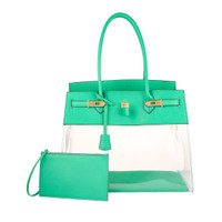 Augustina's Fun Tote in Bamboo Green