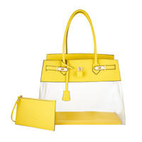 Augustina's Fun Tote in Yellow