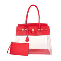 Augustina's Fun Tote in Red