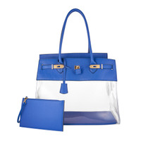 Augustina's Fun Tote in Royal Blue