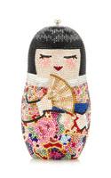 Judith Leiber Russian Doll Nico Clutch Bag