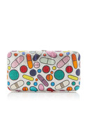 Judith Leiber Couture Pill Popper Smooth Rectangle Clutch
