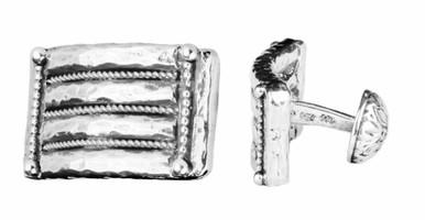Konstantino Sterling Silver Rectangular Cufflinks