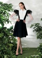Chiara Boni La Petite Robe Hadia Organza Dress