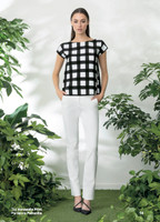 Chiara Boni La Petite Robe Annasofia Print Top