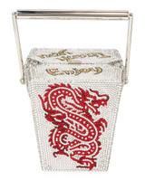 Judith Leiber Couture Take Out Box Crystal Handbag
