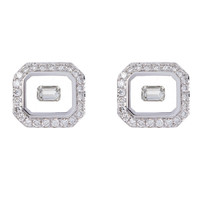 Nikos Koulis Universe Earrings with White Diamonds
