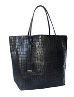 Linde Gallery Gouverneur Alligator Embossed Medium Tote