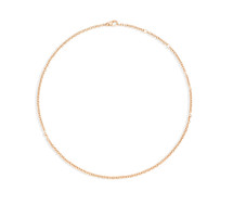 Pomellato Chain Necklace in Rose Gold
