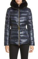 """Herno Navy Iconico """"Claudia"""" Quilted Puffer Jacket"""
