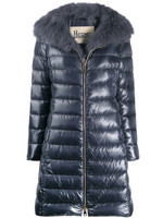 """Herno Blu Aperto Iconico """"Elisa"""" Quilted Puffer Jacket"""