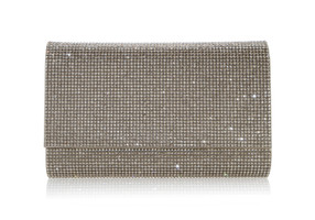 Judith Leiber Couture Fizzoni Champagne Crystal-Embellished Clutch