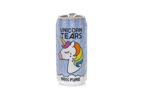 Judith Leiber Couture Beverage Can Unicorn Crystal Clutch Bag