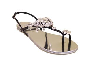 Giuseppe Zanotti Rock Crystal Sandal