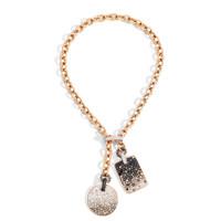 Pomellato Sabbia Ombre' Midnight Sky Mixed Diamond Necklace