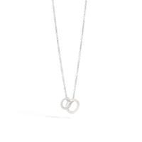 Pomellato The Maison's Iconic Chain White Gold Diamond Brera Necklace