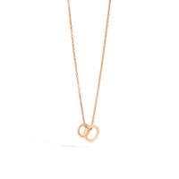 Pomellato The Maison's Iconic Chain Rose Gold Diamond Brera Necklace