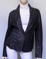 Jakett Peyton  Washed Leather Black