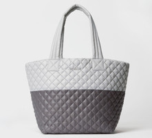 MZ Wallace Fog and Magnet Metro Tote