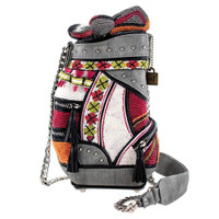 Mary Frances Don't Be Caddy Beaded Golf Bag Handbag