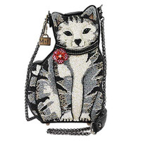 Mary Frances Nine Lives Cat Bag