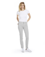 Fabrizio Gianni Cotton Twill Stretch Slim-Fit Jeans | Silvery