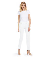 Fabrizio Gianni Cotton Twill Stretch Slim-Fit Jeans | White