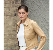 Hayden Solid Vintage Leather Jacket