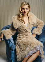 Paula Lishman Hand Knit Beaver Tchaikovsky Coat