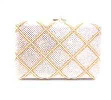 Judith Leiber Couture  Rectangle Slim Slide Clutch